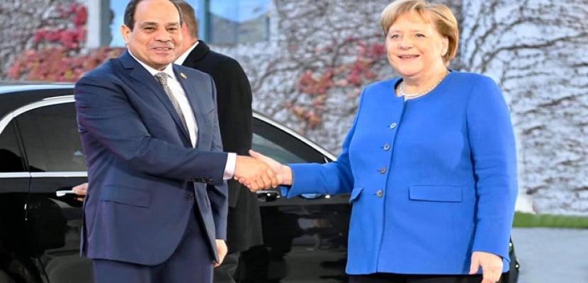 قراءة في القمة المصرية الألمانية بين الرئيس السيسي والمستشارة الألمانية ميركل في برلين