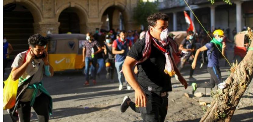 اندلاع اشتباكات جديدة في بغداد رغم دعوة السيستاني للهدوء