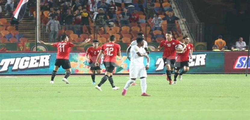 مصر إلى نصف نهائي أمم إفريقيا تحت 23 سنة بفوز صعب على غانا