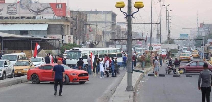 إضراب عام في شرق بغداد.. وقطع طرق رئيسية بالمدينة