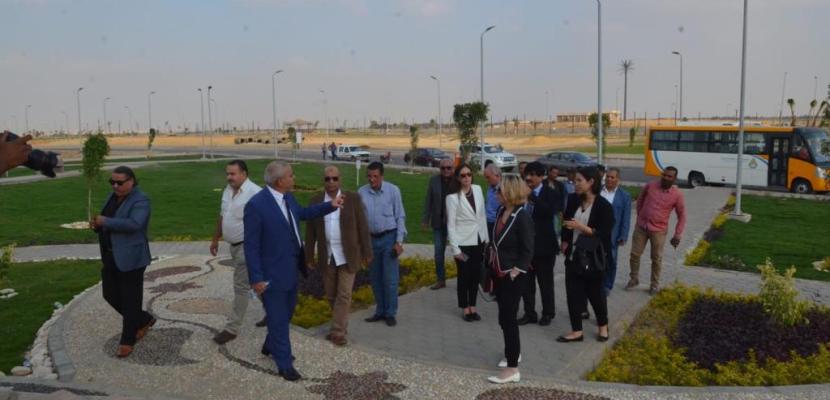 """بالصور- خلال جولة بمدينة بدر.. مسئولو البنك الدولى يؤكدون أن """"الإسكان الاجتماعي"""" أحد أهم إنجازات الدولة المصرية"""