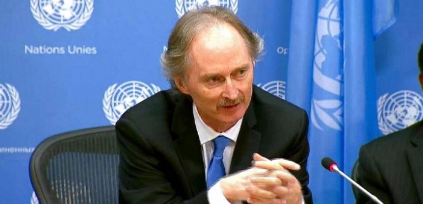 مبعوث الأمم المتحدة: اللجنة الدستورية السورية تجتمع في جنيف في 25 نوفمبر