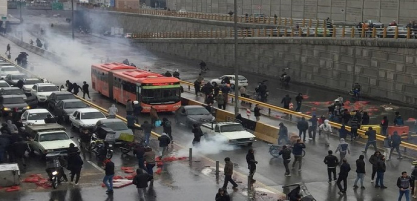 منظمة العفو الدولية: 208 قتلى على الأقل في احتجاجات إيران