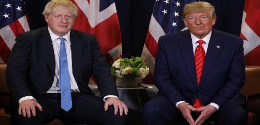 "جونسون: فليحل ""اتفاق ترامب"" محل الاتفاق النووي مع إيران"