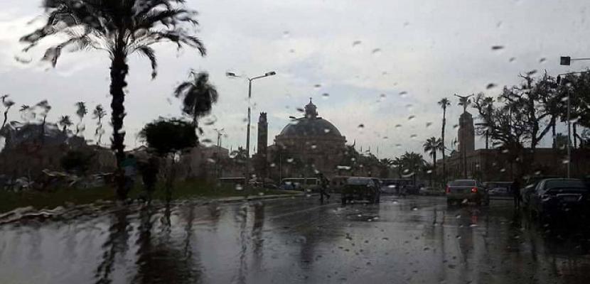 الأرصاد: اليوم ذروة موجة الطقس السيئ وأمطار غزيرة ورعدية تمتد للقاهرة