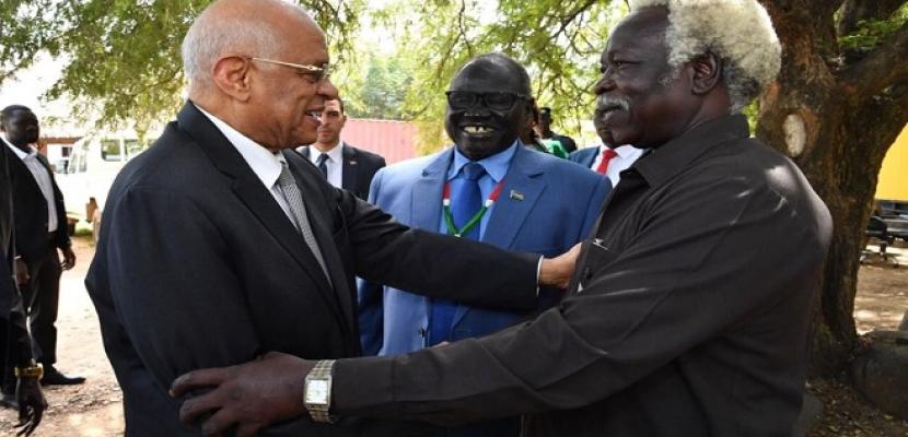 بالصور..عبد العال: لدينا مصالح زراعية مشتركة مع جنوب السودان ومستعدون لتقديم خبراتنا الفنية