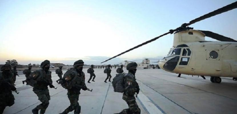 """بالفيديو والصور.. القوات الجوية تنفذ عددا ن المهام القتالية ضمن فعاليات المناورة """"قادر 2020"""""""