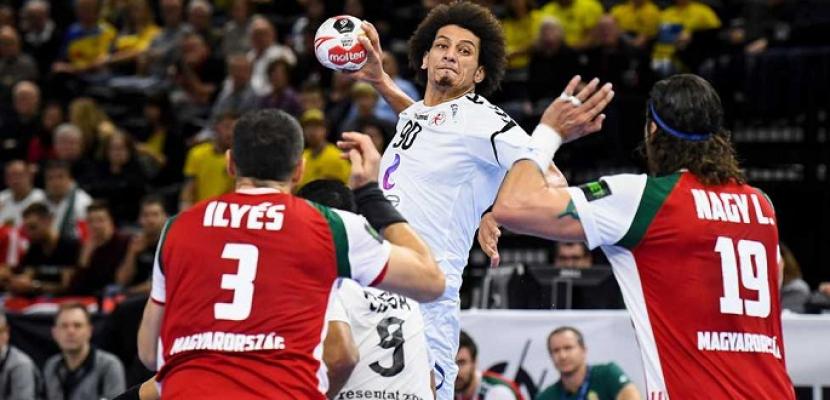 منتخب اليد يهزم الجزائر ويتأهل إلى نهائى أمم أفريقيا بتونس ...