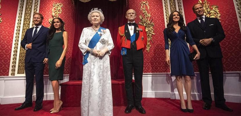 متحف مدام توسو ينقل تمثالي هاري وميجان من قسم العائلة المالكة