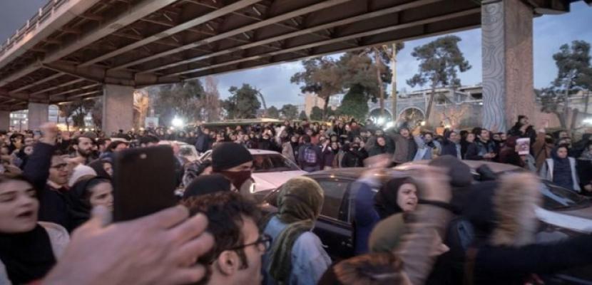 السلطة القضائية الإيرانية: اعتقال نحو 30 شخصا في احتجاجات تتعلق بتحطم الطائرة