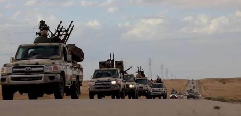 الجيش الليبي يحرك قواته نحو الزاوية لتحريرها من المسلحين
