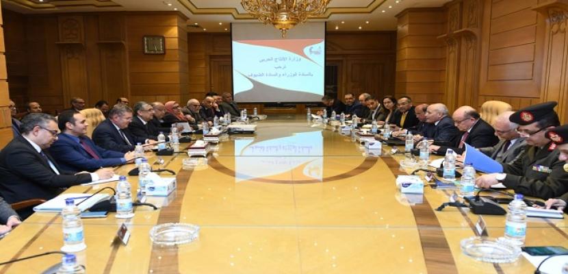 بالصور.. وزراء الإنتاج الحربي والكهرباء وقطاع الأعمال العام يبحثون سبل دعم التعاون مع الجابون