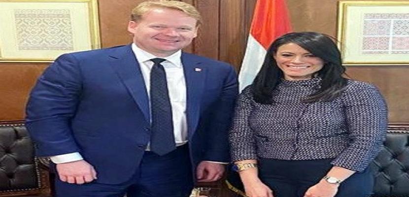 """""""بالصور..خلال لقائه المشاط .. رئيس """"بكتل الأمريكية: إنجازات مصر الاقتصادية تشجعنا على توسيع نشاطنا بها"""
