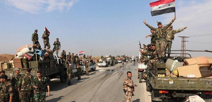 الجيش السوري يحقق تقدمات جديدة في القطاع الغربي لريف حلب