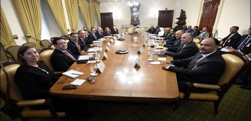 """اختتام مفاوضات """"سد النهضة"""".. والجانب الأمريكي سيبلور الاتفاق في صورته النهائية لعرضه على الدول الثلاث في غضون أيام"""