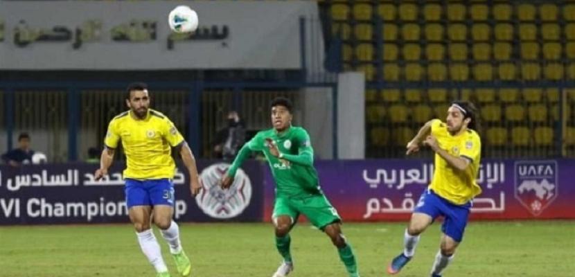 الإسماعيلي يفوز على الرجاء المغربي بذهاب نصف نهائي كأس محمد السادس