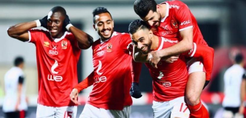 الأهلي يفوز على المصري بثلاثية نظيفة في الدوري