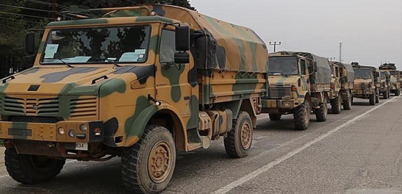 البيان : رتل عسكري تركي إلى إدلب وحرب تصفيات في المعارضة
