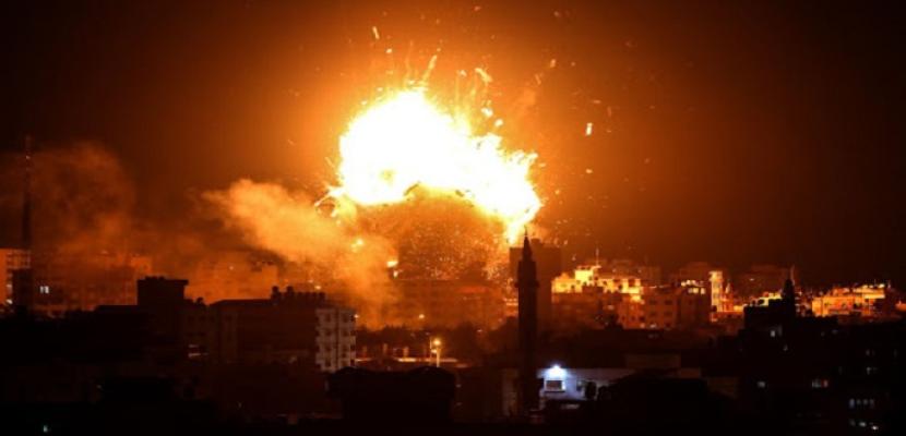 7 قتلى في القصف الإسرائيلي على دمشق