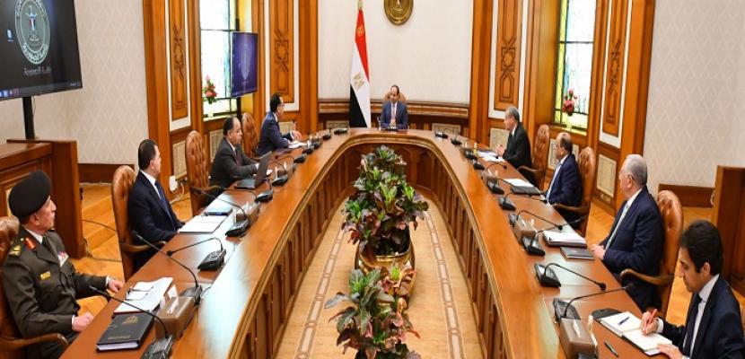 الرئيس السيسي يتابع الموقف الخاص بالسلع التموينية والمواد الغذائية الأولية في الأسواق المحلية