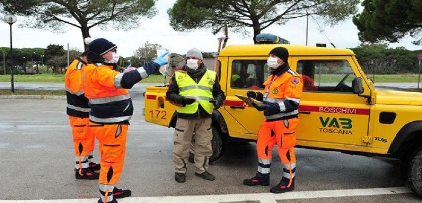 فيروس كورونا يقتل 662 في إيطاليا في يوم واحد وارتفاع الوفيات إلى 8165