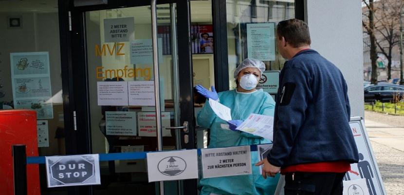 ارتفاع عدد حالات الإصابة بكورونا في ألمانيا بواقع 1821 ليصل الاجمالي لـ 274158
