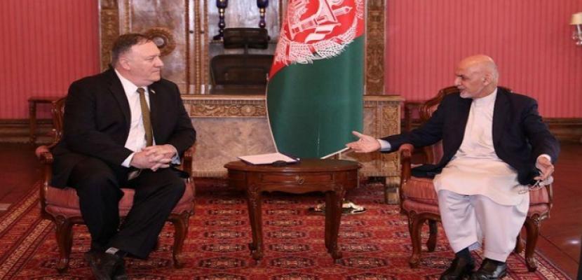 وزير الخارجية الأمريكي يشيد بإعلان الرئيس الأفغاني إطلاق سراح ألفي سجين من طالبان