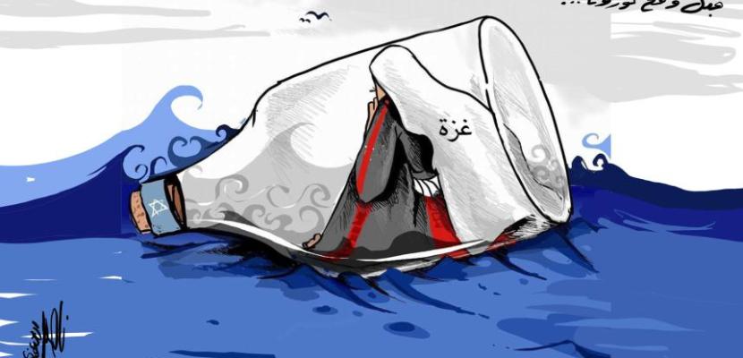 الكورونا في غزة