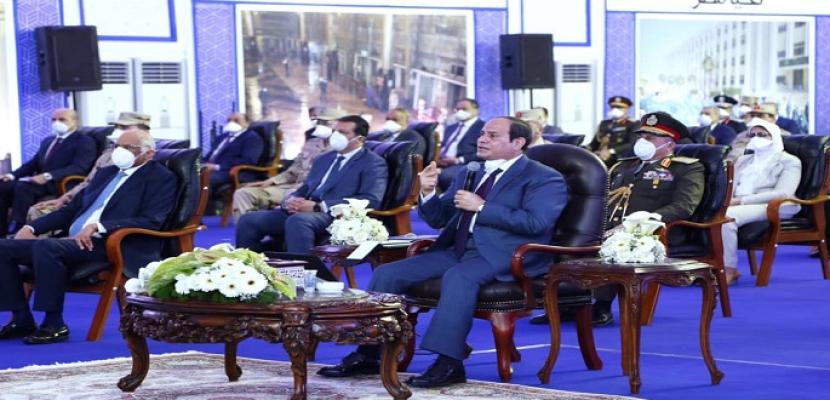 بالفيديو.. السيسي: أتوجه بالتحية لكافة أجهزة الدولة على جهود مواجهة أزمة كورونا وأدعو المصريين لمزيد من الالتزام
