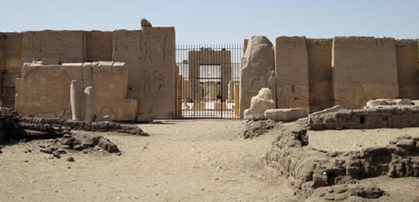 الآثار: الكشف عن ودائع أساس ومخازن معبد رمسيس الثاني بأبيدوس
