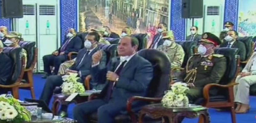 كلمة الرئيس السيسي خلال تفقده اطقم القوات المسلحة المخصة لمكافحة فيروس كورونا
