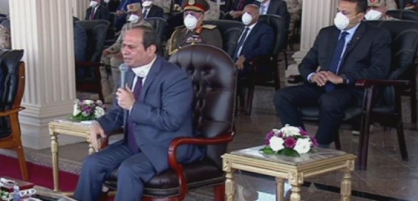 السيسي: تقديم يد العون للدول رسالة تضامن من مصر فى مواجهة كورونا