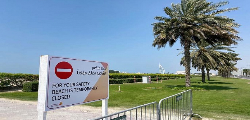 دبي تسمح بإعادة فتح الحدائق العامة وشواطئ الفنادق بشروط