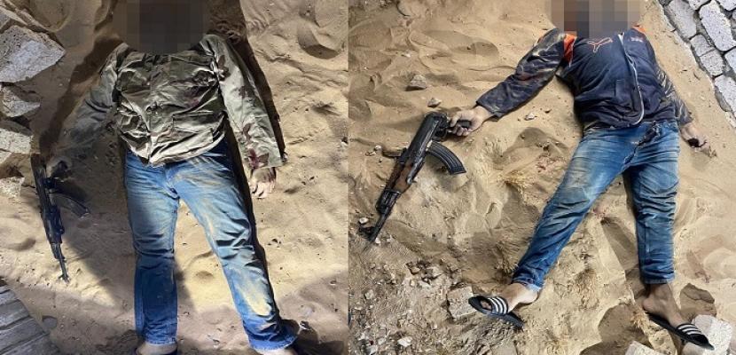 بالصور .. الداخلية : مقتل ٢١ إرهابياً خططوا لارتكاب عمليات عدائية بالتزامن مع عيد الفطر