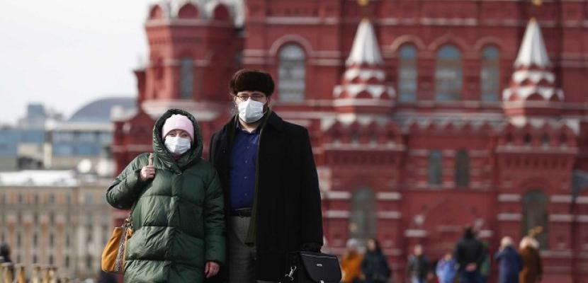 روسيا تسجل 9434 إصابة جديدة بفيروس كورونا خلال ٢٤ ساعة