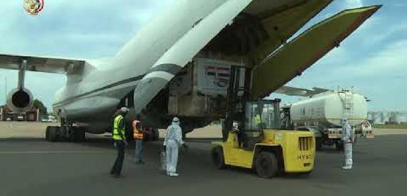 بالفيديو.. وصول طائرة المساعدات الطبية الثانية إلى جنوب السودان