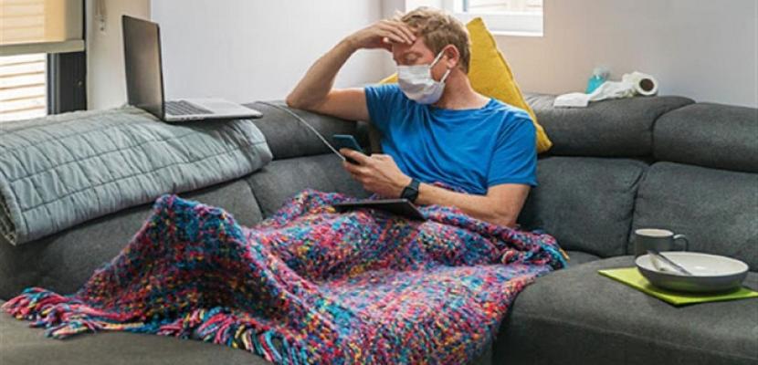 دراسة : البقاء بالمنزل يساهم فى تقليل معدل الإصابة بكورونا