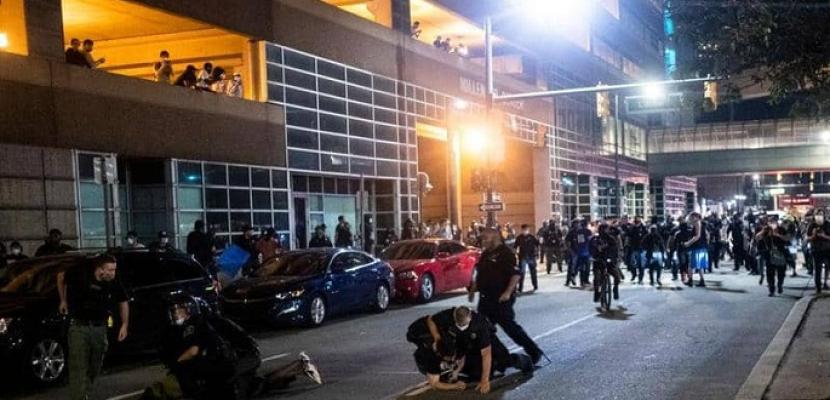 قتيل بإطلاق نار على متظاهرى حادثة مينيابوليس فى مدينة ديترويت الأمريكية
