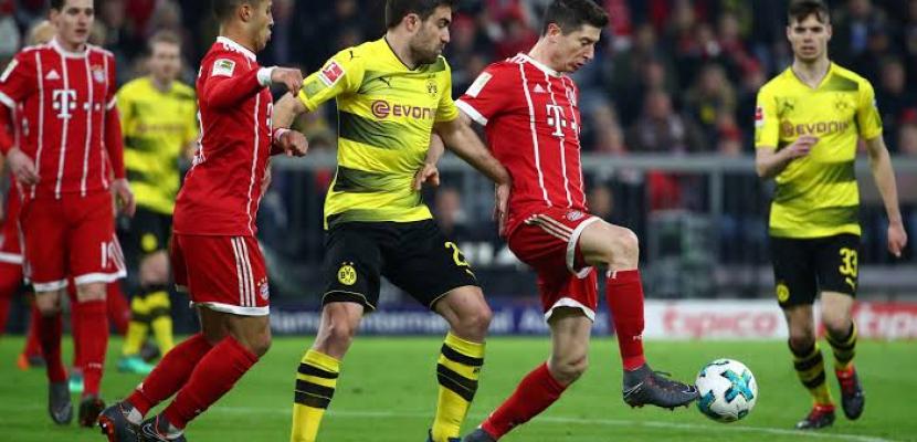 بايرن ميونخ يفوز على بروسيا دورتموند بهدف ويعزز صدارته للدوري الألماني