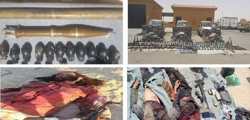 بالفيديو.. القوات المسلحة تواصل ضرباتها المتلاحقة للعناصر التكفيرية بشمال سيناء