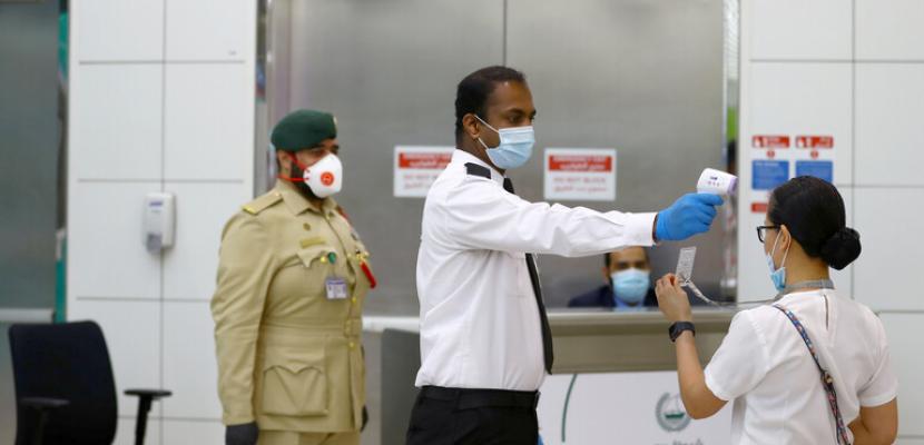 تسجيل 421 إصابة جديدة بفيروس كورونا فى الإمارات