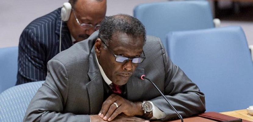 مندوب السودان : مصر لها الحق في تطوير مواردها المائية .. والاتفاق قبل ملء السد يجنب إضرار الملايين