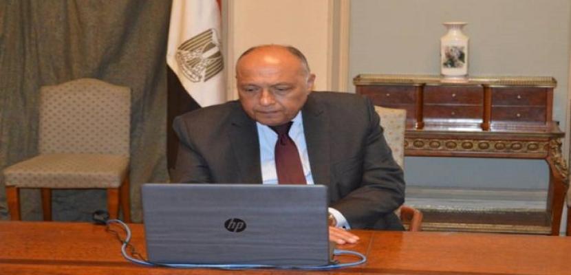 شكري يبحث هاتفيا مع نظيره الجزائرى القضايا المؤثرة على الاستقرار الإقليمي والأمن القومي العربي
