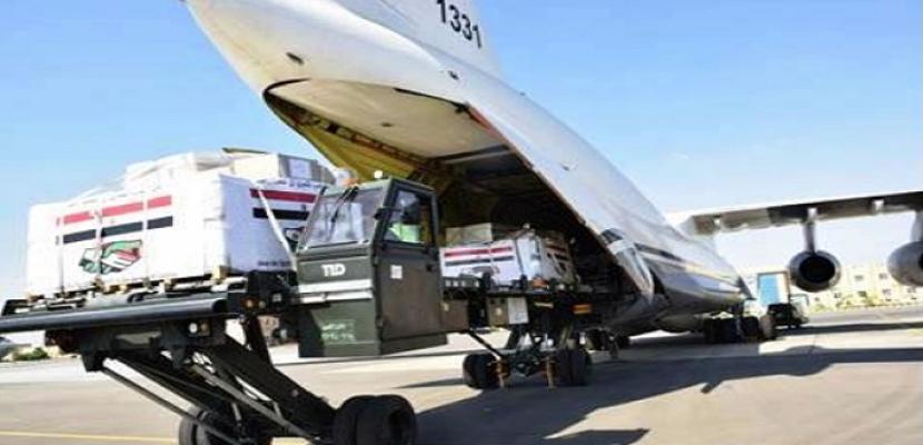 بالفيديو والصور.. وصول طائرة المساعدات الطبية المصرية إلى الكونغو الديمقراطية وزامبيا