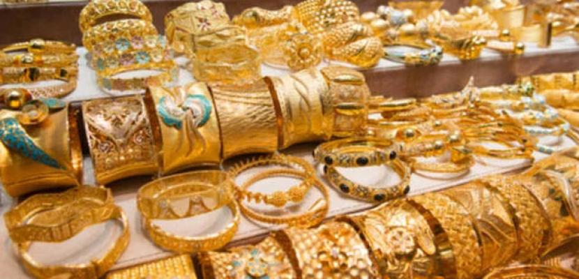 استقرار أسعار الذهب اليوم فى مصر وعيار 21 بـ878 جنيها