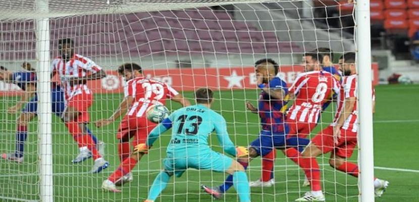 برشلونة يواصل تعثره ويتعادل مع أتلتيكو مدريد 2 / 2