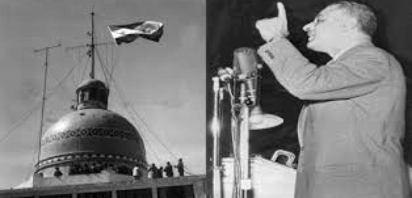 الذكرى الـ 55 لتأميم القناة تؤكد أن أرض مصر مازالت وستظل تنبت الأبطال