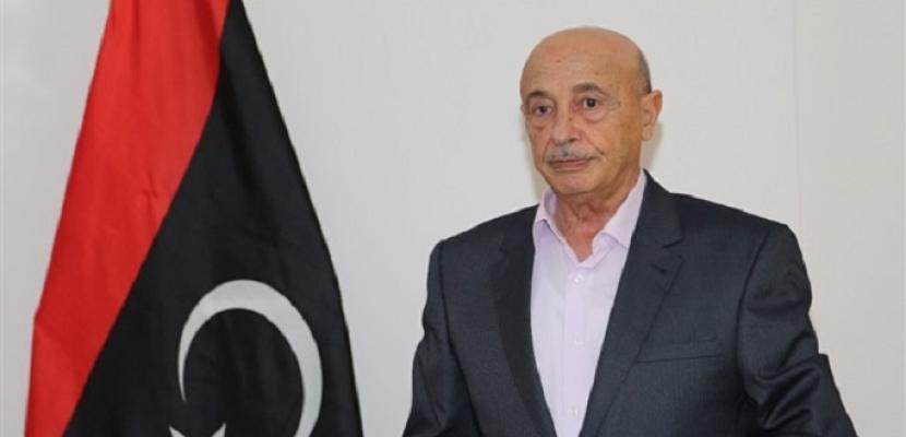 الاتحاد الأوروبى يرفع اسم عقيلة صالح رئيس البرلمان الليبي من لائحة العقوبات