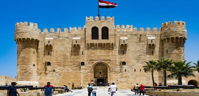 الآثار: إقبال على زيارة قلعة قايتباي في أول أيام عيد الأضحى المبارك