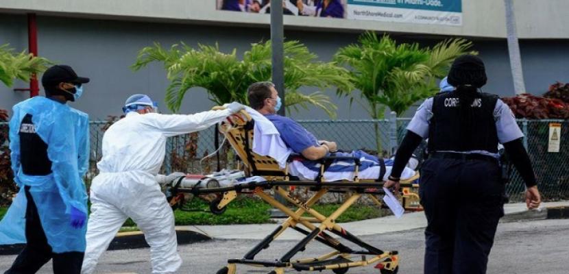 أمريكا تسجل 44 ألفا و360 إصابة يومية بفيروس كورونا
